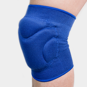 Medakor blue thickening Polyester elastic fitness sports volleyball knee pads