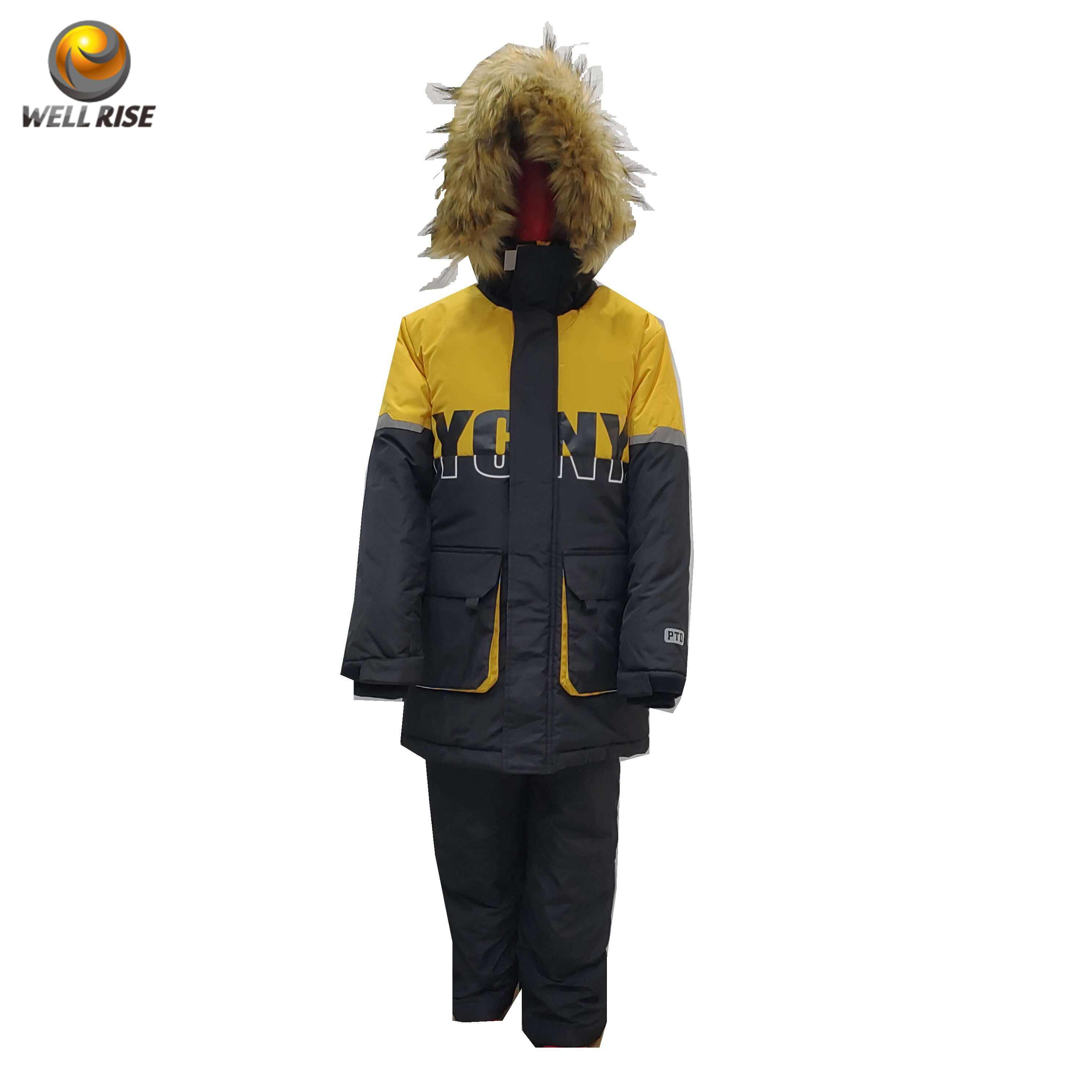 Well Rise boy ski one piece suit waterproof windproof high quality ski suit jacket and pant