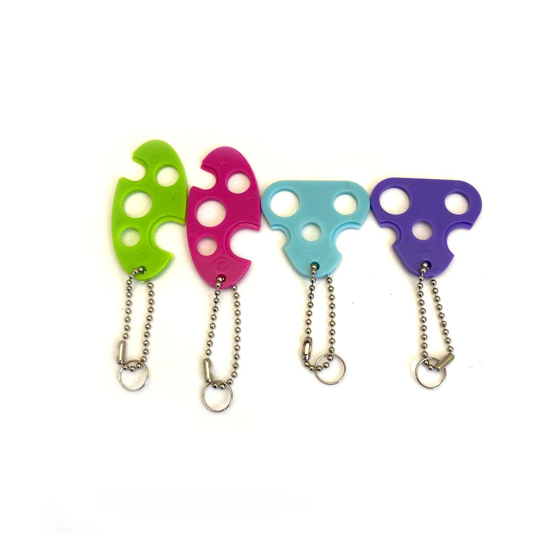In stock plastic opener for essential oil bottles key tool