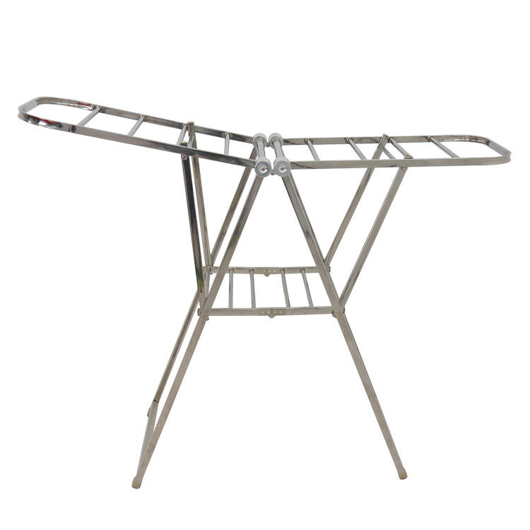 Foldable Laundry Steel Material Olding Radiator Airer Cloth Drying Rack