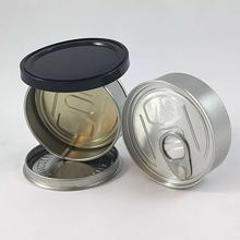Custom Stickers Smell Proof 100ml Press It in Can Sealf Seal Can  Easy Peel Off Lids 3.5g Tin Weed Cans