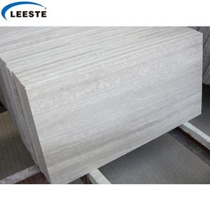Hot Selling Products white Serpeggiante White Wood Grain Book Match Marble