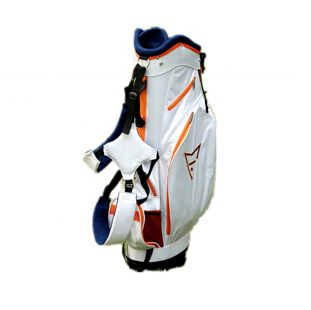 Customized polyester material golf bag for men with custom logo