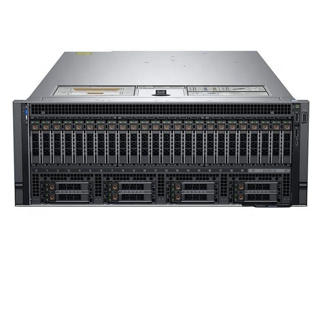 Dell poweredge quad core xeon de oro 6254 CPU 4U servidor r940xa rack server