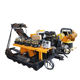 High-performance crawler type DTH series water drilling machine