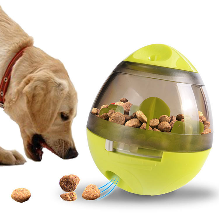 2020 dropshiping pet snack ball toys leaky treat interactive dog training toys