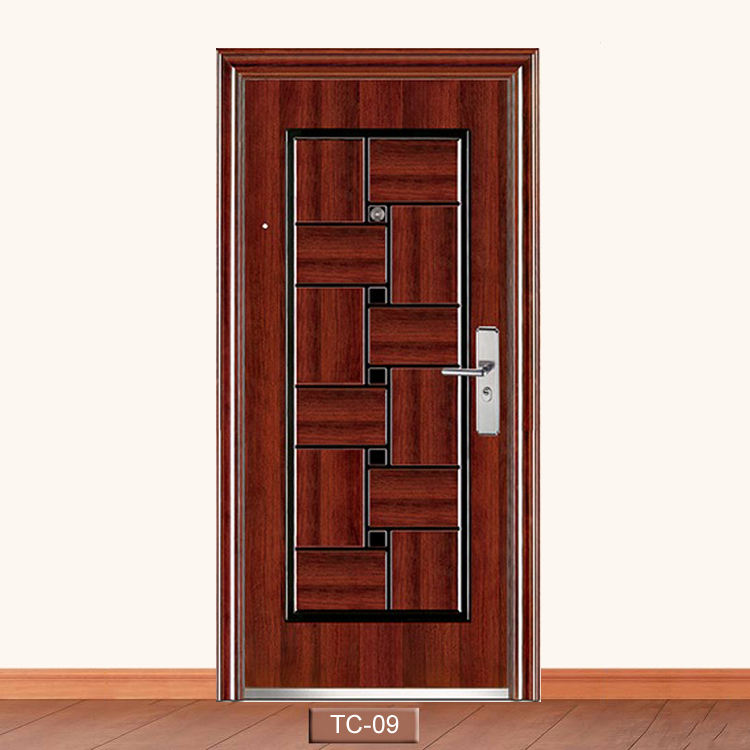Cheap Price Philippines Manila Market Design Exterior Gate Metal Door