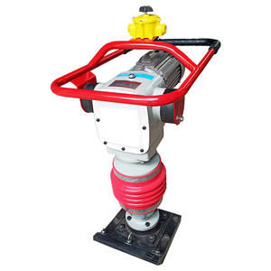 High Quality vibratory 110 Electric motor Vibrating Tamping Rammer