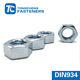 DIN934 Zinc Plated Grade 4/8/10 Carbon Steel Hex Nut