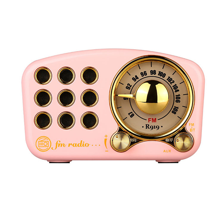 New product portable fm digital radio UV Painting protect layer home radio