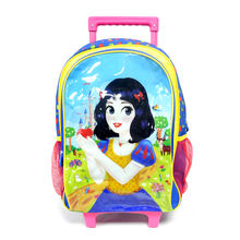 Customized Logo Kids Trolly Backpack Bag Girls School Mochila Scooter