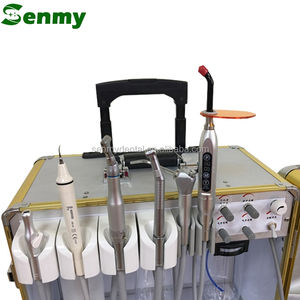 S112 CE Mobile Dental Unit Price with Ultrasonic Scaler