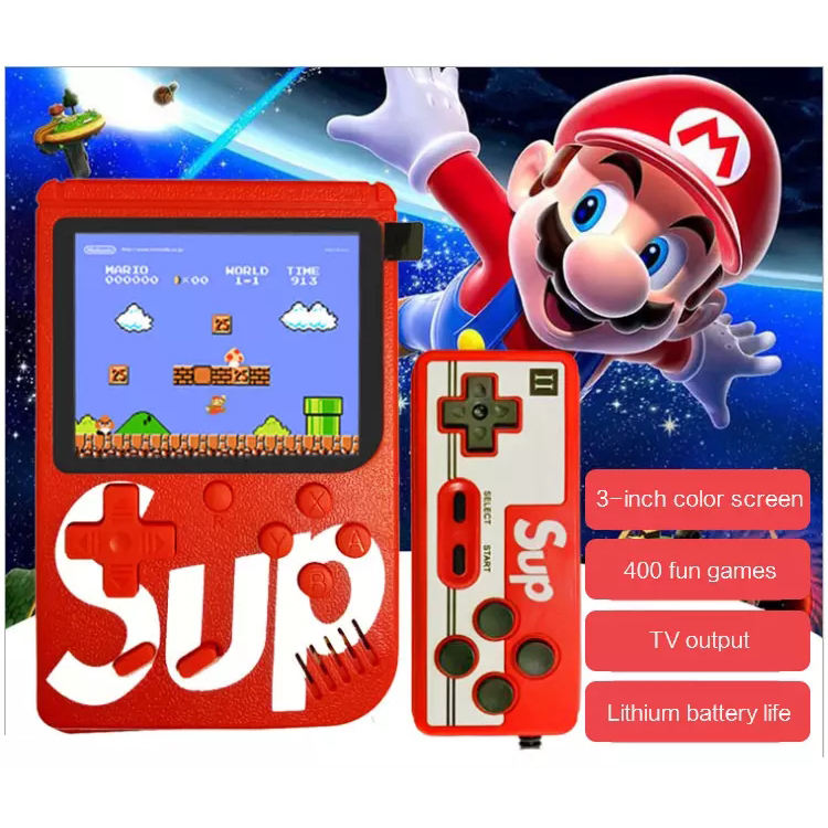 2020 Portable 8 bits TV retro handheld game player Mini video Handheld Game Console Built-in 400 Classic Games