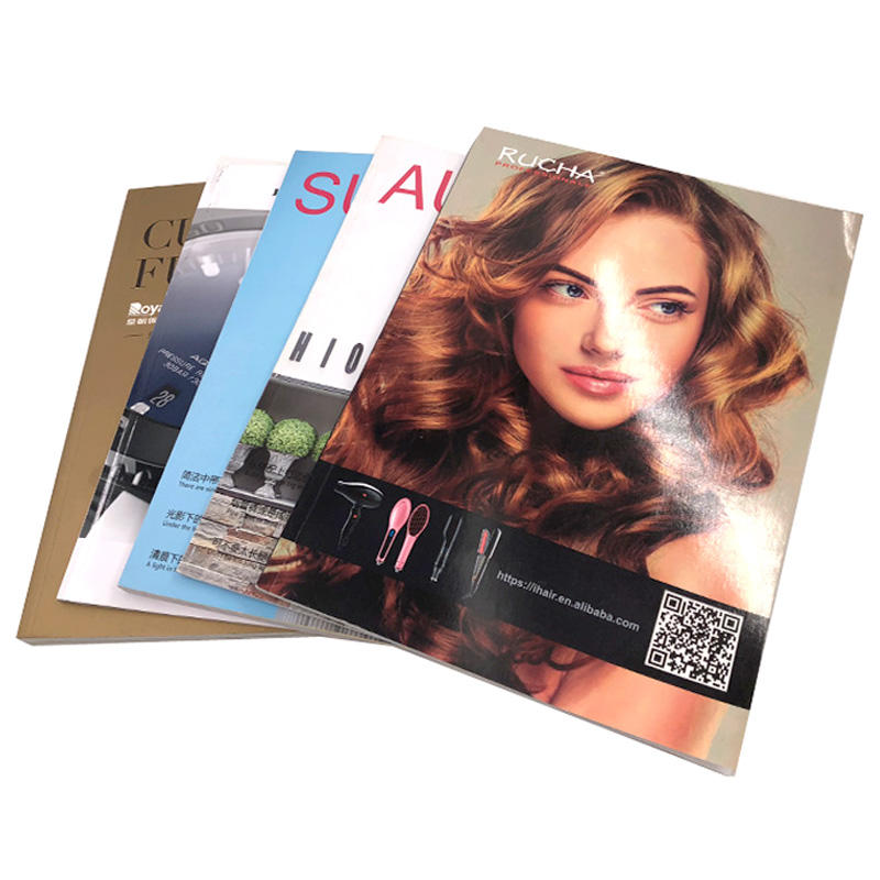 Offset Printing perfect binding catalogue magazine booklet paperback book printing