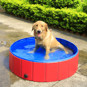 Foldable Dog Pool Pet Swimming Pool for Dogs Cats