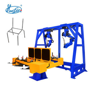 HWASHI 6 AXIS Tube MIG Welding Robot Station for Welding School Chair and Desk