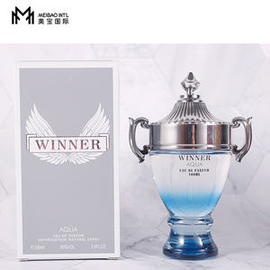 popular men perfume with champion cup design for wholesale and long time lasting french fragrance 100ml