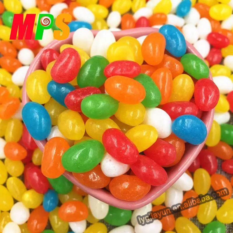 Candy Manufacture 1kg 2kg 3kg Jelly Beans in Bag