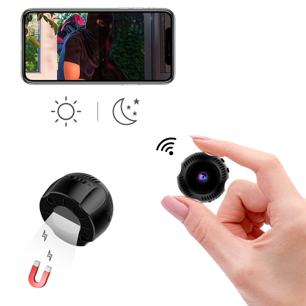 2019 Amazon hot selling HD 1080P mini Hidden cam Wireless IP Security wifi Camera dropshipping also supported