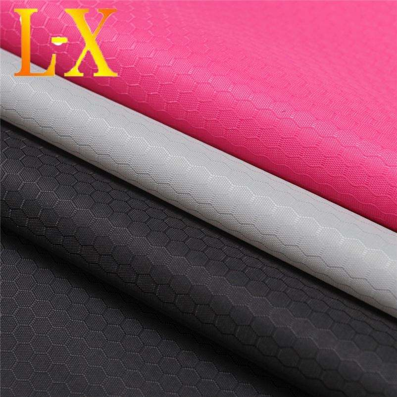 DOBBY 100% POLYESTER OXFORD FABRIC PU COATED FOR BAGS/OUTDOOR PRODUCTS/HOME TEXTILE ETC