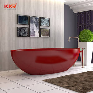 KKR Factory Freestanding Composite Stone Bathtub