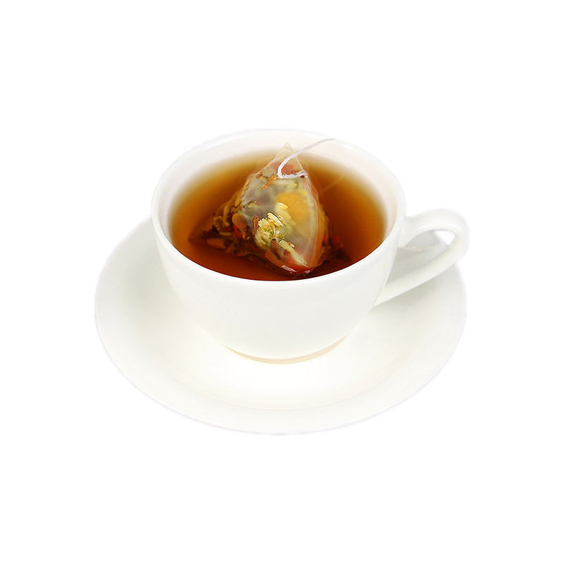 Year-round hot drink boxed chrysanthemum, cassia seed, wolfberry and burdock root teabag