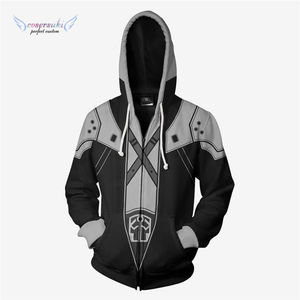 Final Fantasy anime hoodie Cosplay Karneval party kostüm