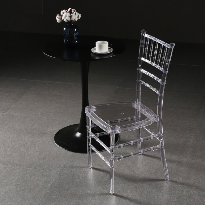 Fashion chair acrylic clear resin chairs