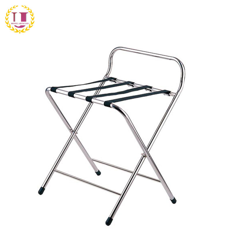 Stainless Steel Luggage Rack for Hotel Bedroom