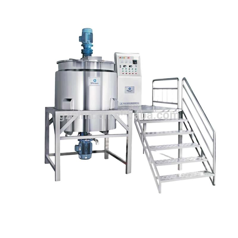 Engineer available to go overseas provide service liquid batch detergent, liquid soap, shampoo making production line