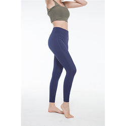 Factory manufacture various seamless gym stacked leggings