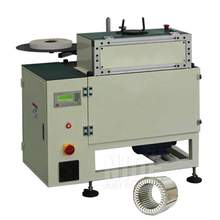 Efficient electric motor insulation paper cutting folding and inserting machine for stator coil winding