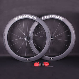 2020 trifox carbon bicycle wheels T700 700C 38mm 50mm 60mm 20H 24H road racing bicycle rimset