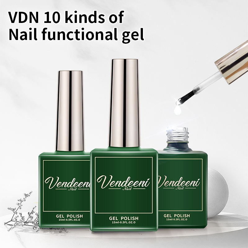 VDN Campione Gratuito Private Label Smalto di Chiodo Del Gel Soak Off Top Coat Base Struttura Gel Matte Top Primer Ph BOND