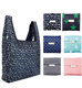 2019 wholesale Fashion Foldable Reusable Ripstop Nylon Polyester Shopping Bag with pouch