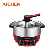 Hot sells automatic electric thermal lifting hot pot steam stew low sugar rice cooker electric pot