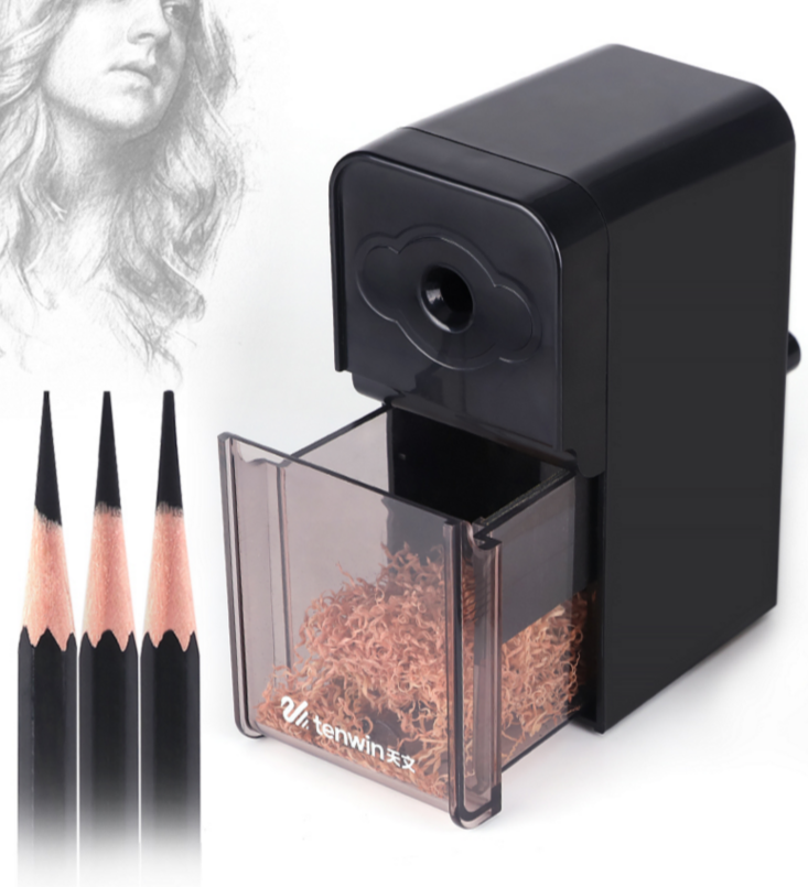 Helical Pencil Sharpener Manual Helical Steel Blade Pencil Sharpener For Artist Charcoal Sketch And Drawing School Student