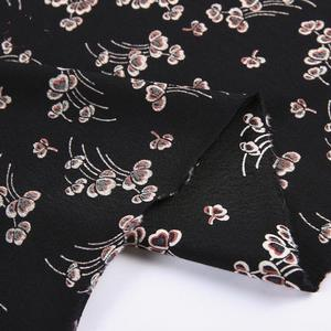 High quality Crepe rayon viscose fabric printed for women's dresses