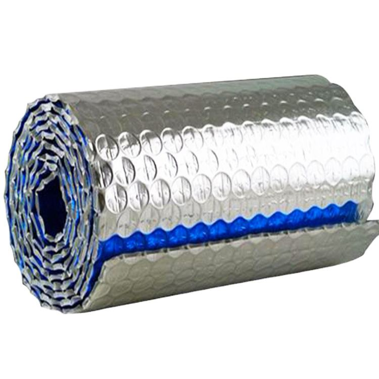Hot sales high quality roof/wall/floor Aluminium foil bubble thermal insulation wrap