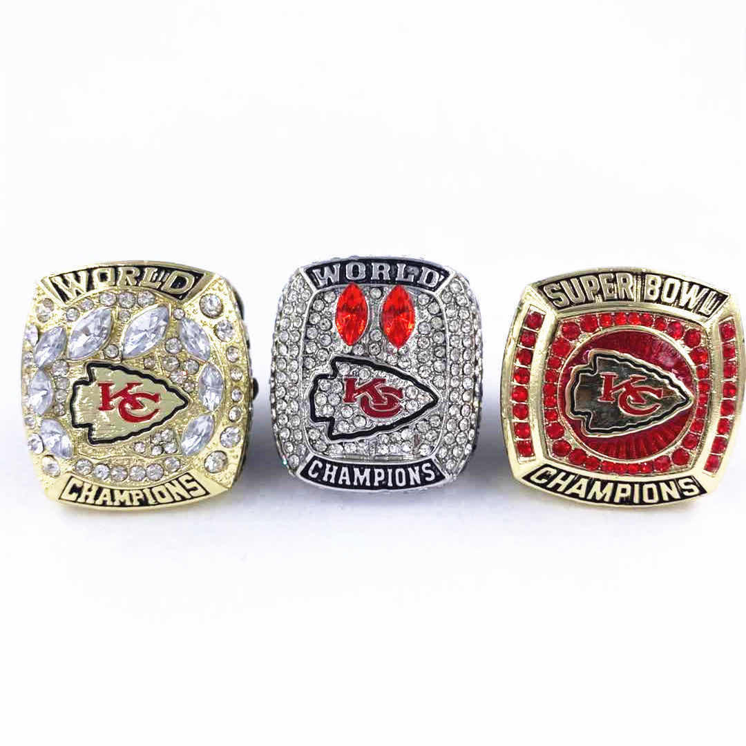 2020 NFL <span class=keywords><strong>Kansas</strong></span> <span class=keywords><strong>Chiefs</strong></span> Fußball Meisterschaft <span class=keywords><strong>Ring</strong></span> Lager
