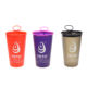 Low MOQ 200ml BPA Free Sports Running Drinking Water Plastic TPU Soft Foldable Custom Collapsible Cup