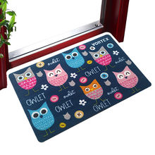 Hot-selling non-slip dusting welcome pvc door mat customized wholesale