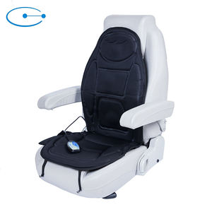 Electric Car And Home Vibrate Heat Back Massage Chair Cover Seat Pad