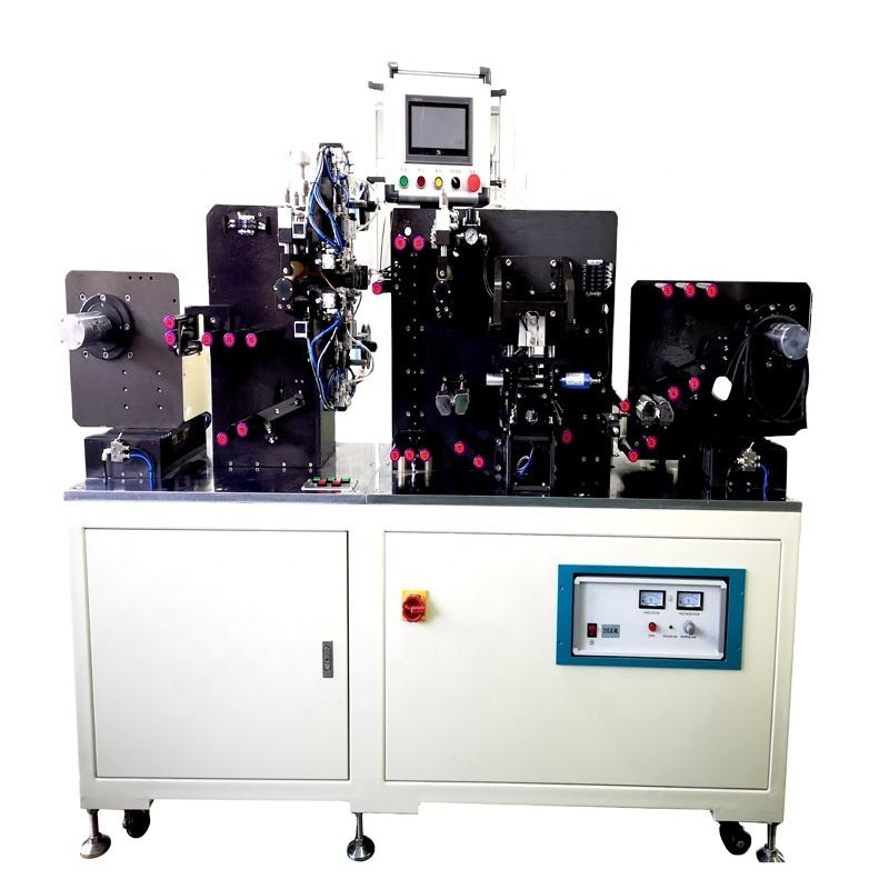 Lithium Ion Battery Winding Process Automatic Electrode Making Machines