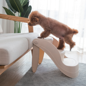 Plastic Foldable Pet Ladder Small Animal Stairs House Use Eco Material Pet Step To Get On Bed&Sofa