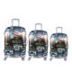 Factory direct supply fashion PC luggage sets Carry on hard Trolley luggage suitcase