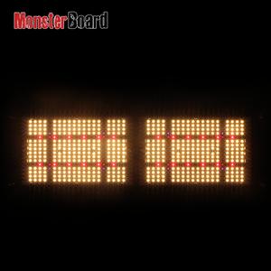 Led grow light 240W monster board grow / V4 plus geeklight uv ir switch 3000k 3500k lm301h cree 660nm mb 252