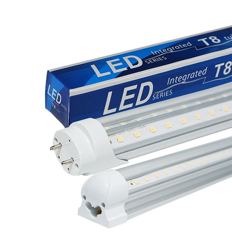 Aluminum 18W cool white t5 t8 LED tube with 120 degree beam angle