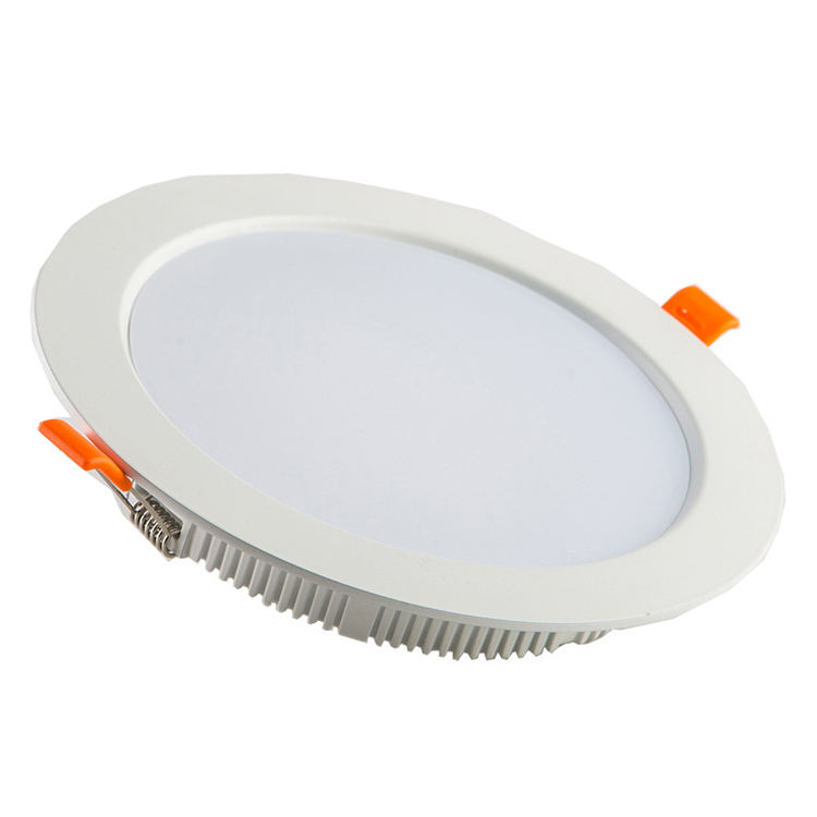 White color ultra thin diecast aluminum body ceiling ip44 3w 24w housing smart price cob recessed led downlights