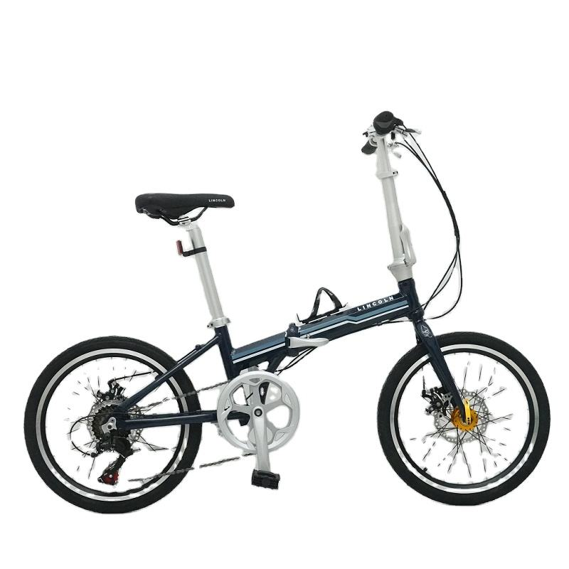 Phoenix 7 Speed Super High Cost Performance Steel Frame Folding Bike